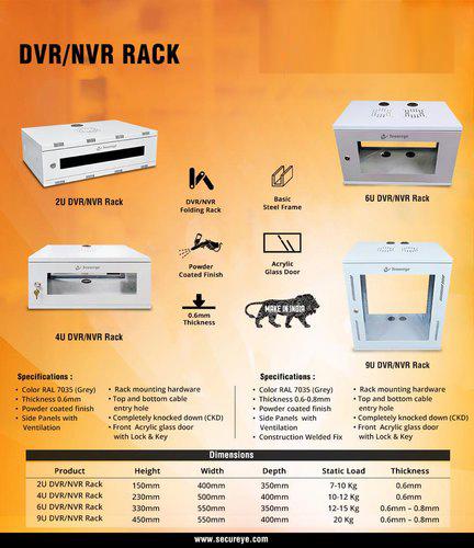 DVR/NVR Rack (Folding Type)