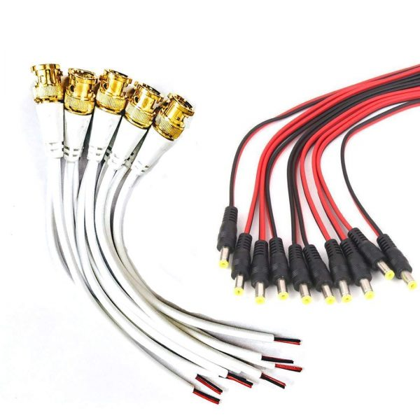 BNC Jack With Wired Heavy, (100pcs PKT