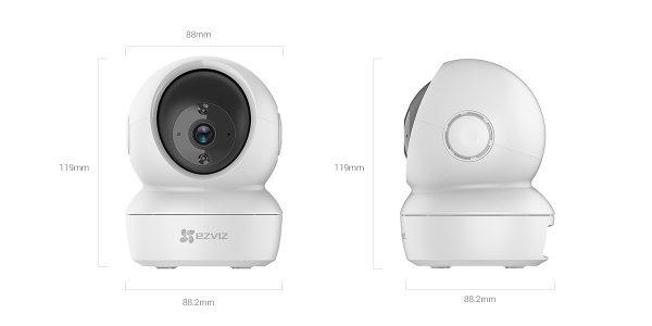 EZVIZ - Smart Wi-Fi Pan & Tilt Camera (CS-C6N-A0-1C2WFR)