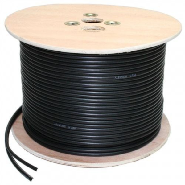 Coaxial Cable with power cable