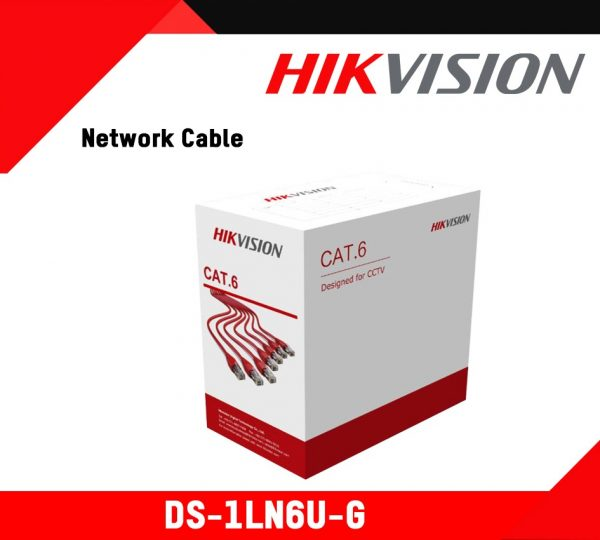 Hikvision 305m Pure Copper CAT6 UTP Network Cable