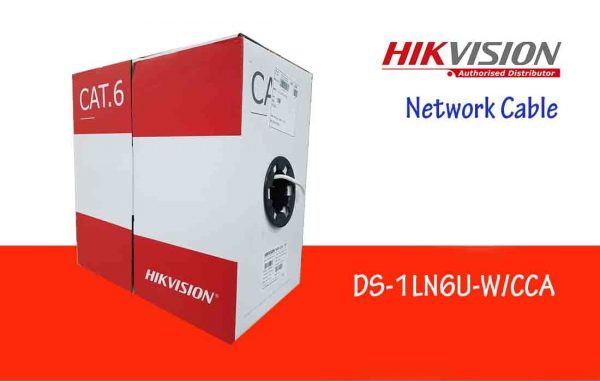 Hikvision DS-1LN6U-W/CCA 305 m CAT6 UTP Network Cable