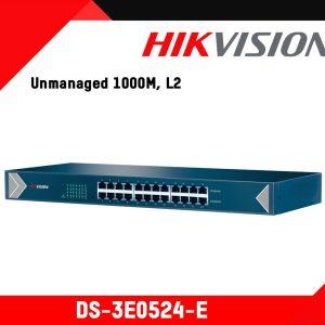 24-Port Gigabit Switch - DS-3E0524-E