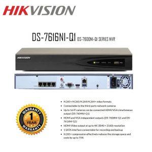 Hikvision DS-7616NI-Q1 16-ch 1U 4K NVR
