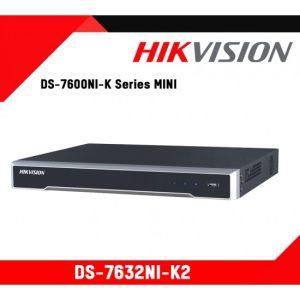 Hikvision DS-7632NI-K2 32-ch 1U 4K NVR. Hikvision