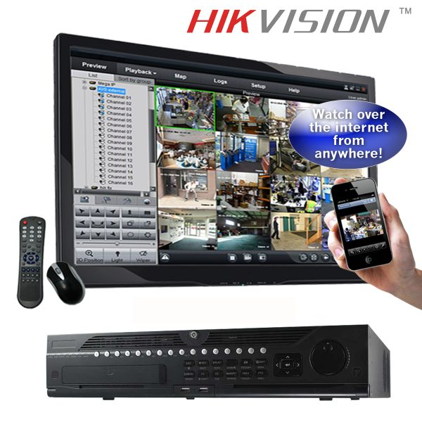 Hikvision DS-9664NI-I8 is a 64 channel NVR