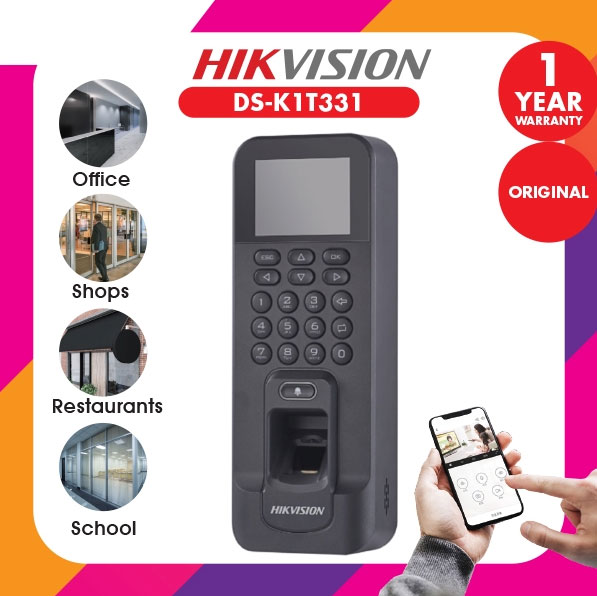 Hikvision Fingerprint Access Control Set - DS-KAS261
