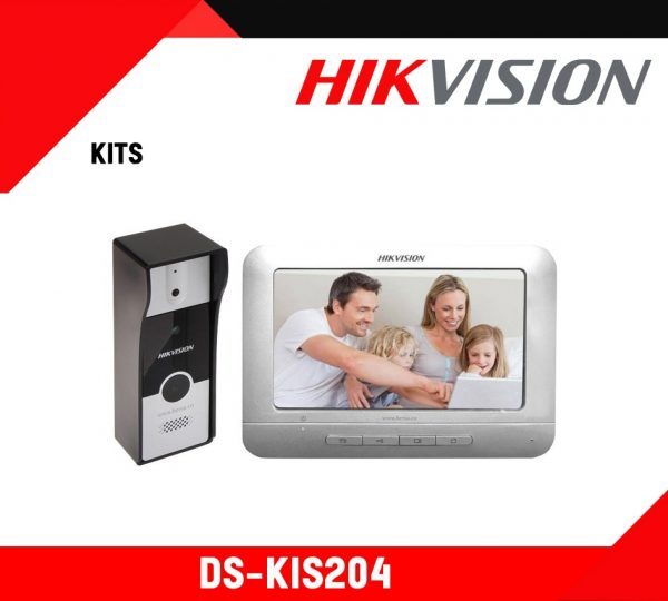 Hikvision Analog Video Door Phone - DS-KIS204