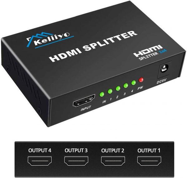 HDMI Splitter (1 in 4 out)