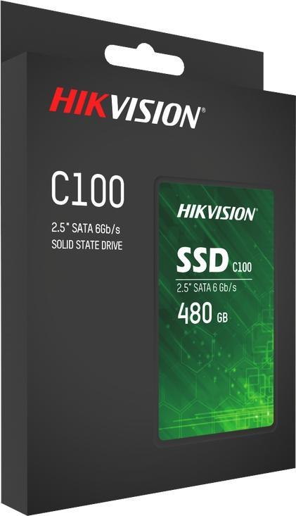 """Hikvision 480 GB C100 2.5"""" SATA SSD"""