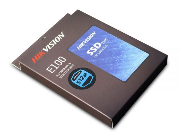"Hikvision 512 GB E100 2.5"" SATA SSD"