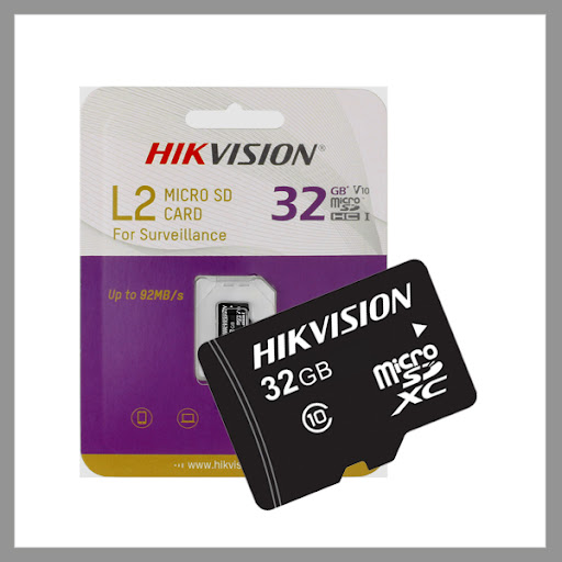 Hikvision L2 series 32 GB Micro SD (TF) card